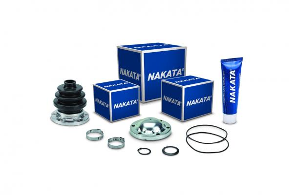Nakata lança novos kits de reparo de junta homocinética.