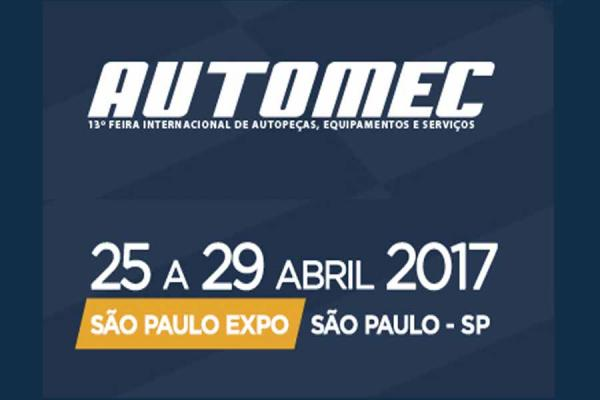 Atenção mercado automotivo: Automec modelo 2017 vem aí