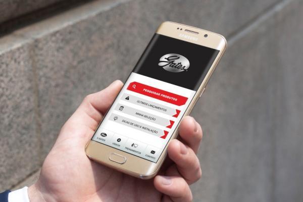 Gates, fornecedor Barros, lança catálogo digital mobile