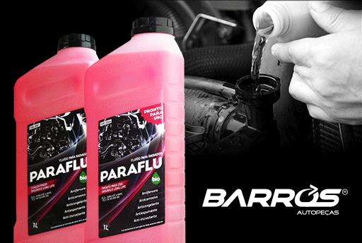 PARAFLU: o mais novo fornecedor Barros