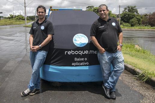 Startup de reboque ajuda motoristas com carro enguiçado