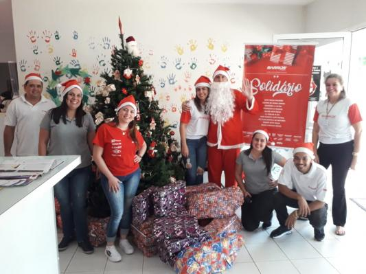 Natal Solidário da Barros: Seu pedido faz a diferença!
